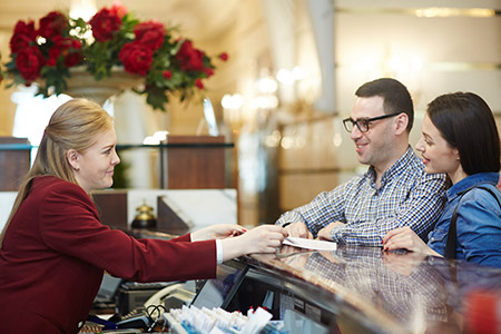 Hotels - Receptie