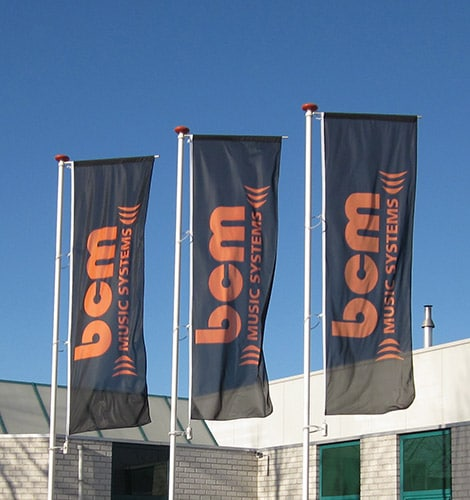 BCM Music Systems - Vlaggen